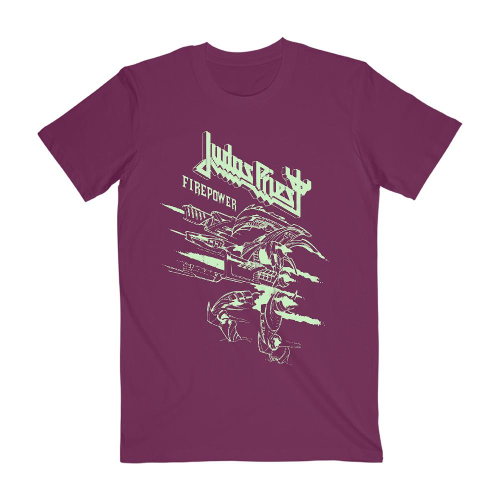 Judas Priest - Firepower Glow Tee