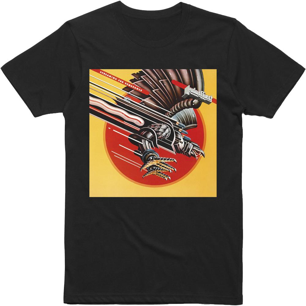 Judas Priest - Screaming For Vengeance Album T-Shirt