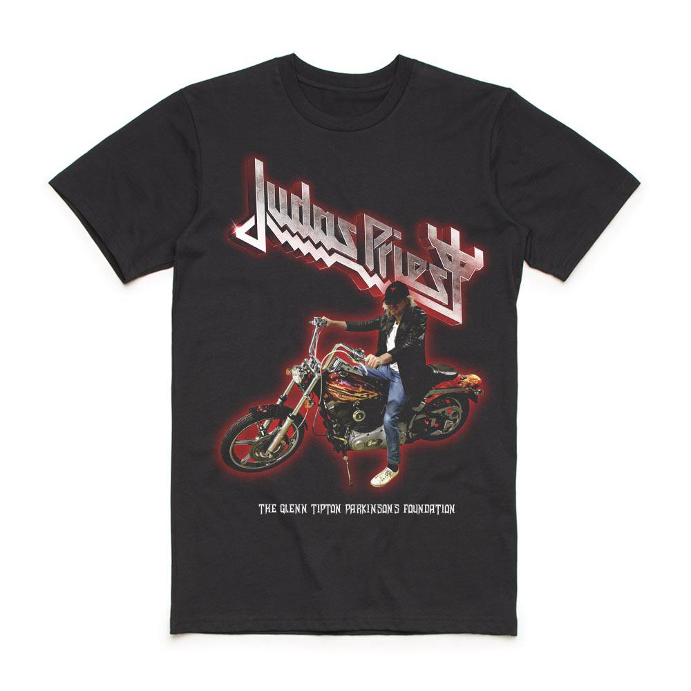 Judas Priest - Glenn Tipton Parkinson's Foundation 2019 Charity T-Shirt
