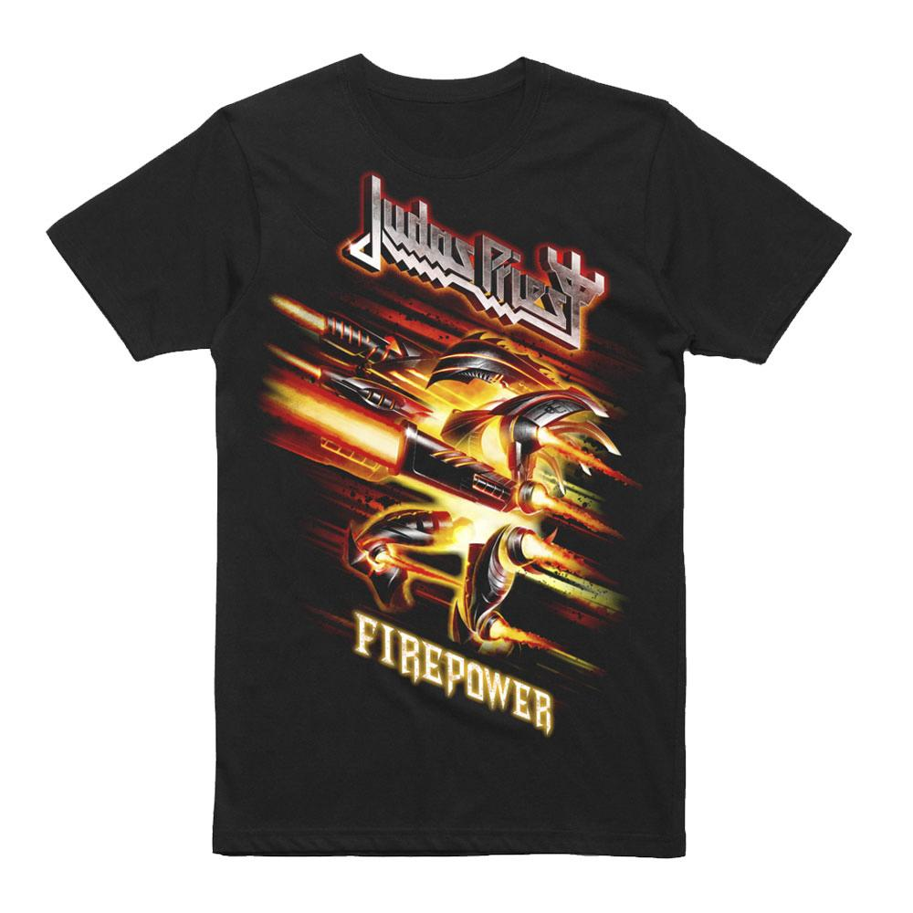 Judas Priest - Firepower Creature 2019 Date Back T-Shirt