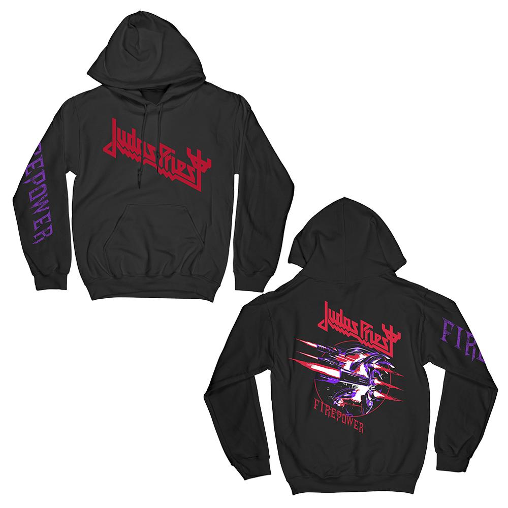 Judas Priest - Firepower Graphic Hoodie
