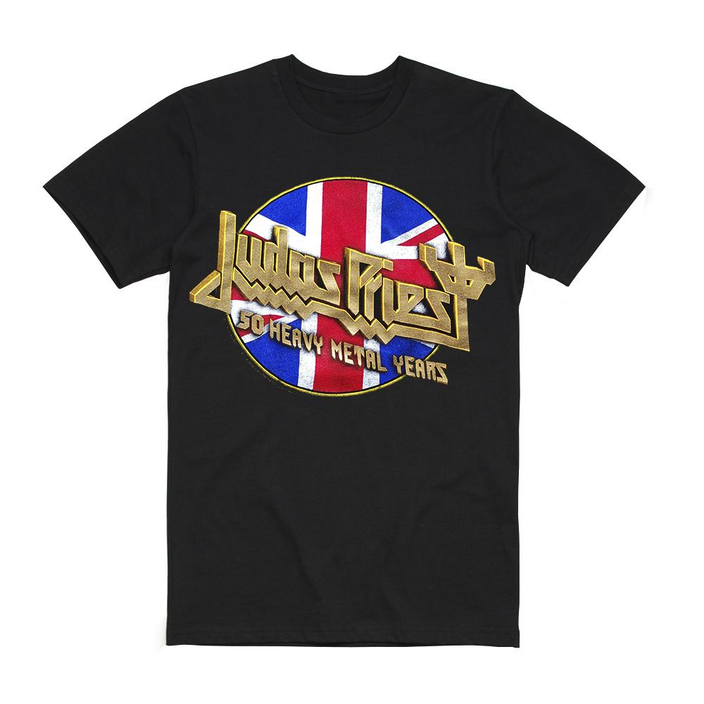 Judas Priest - Official 50 Heavy Metal Years T-Shirt
