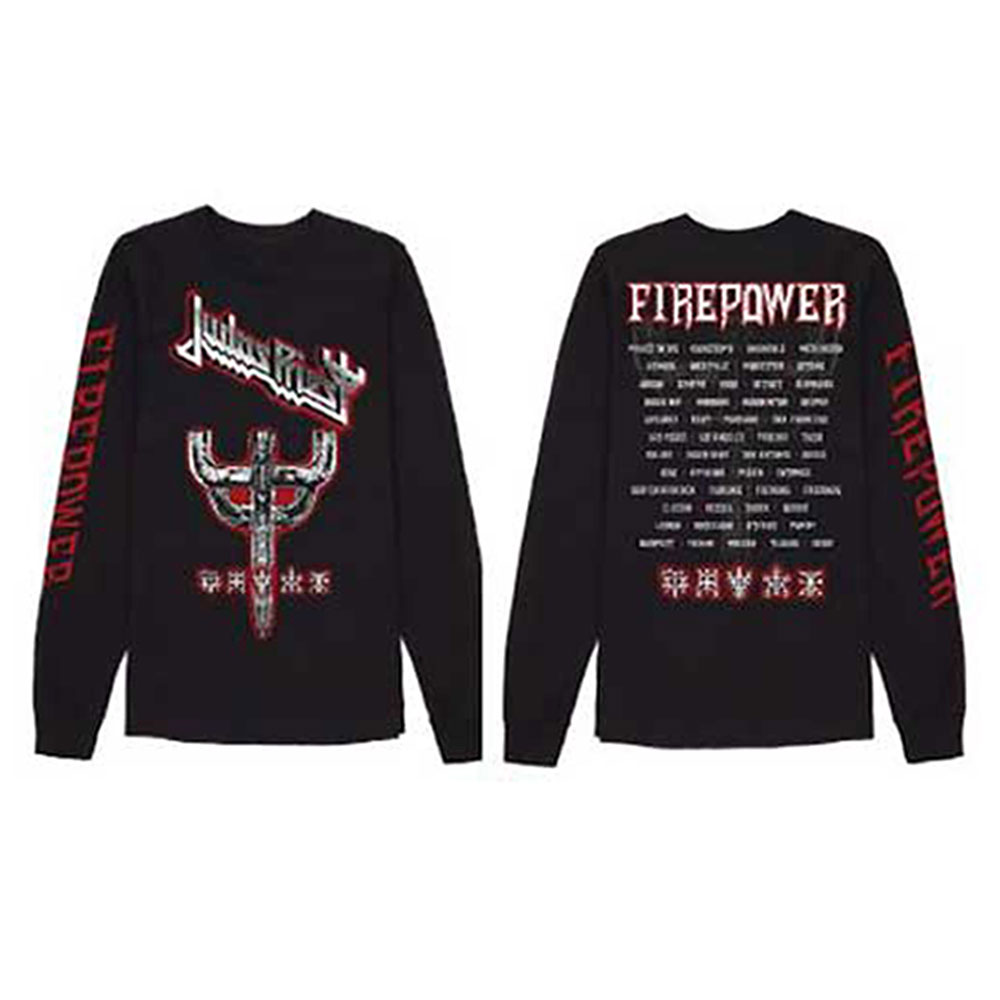 Judas Priest -  Emblem City 2018 Firepower Tour (Ex Tour/Back Print)