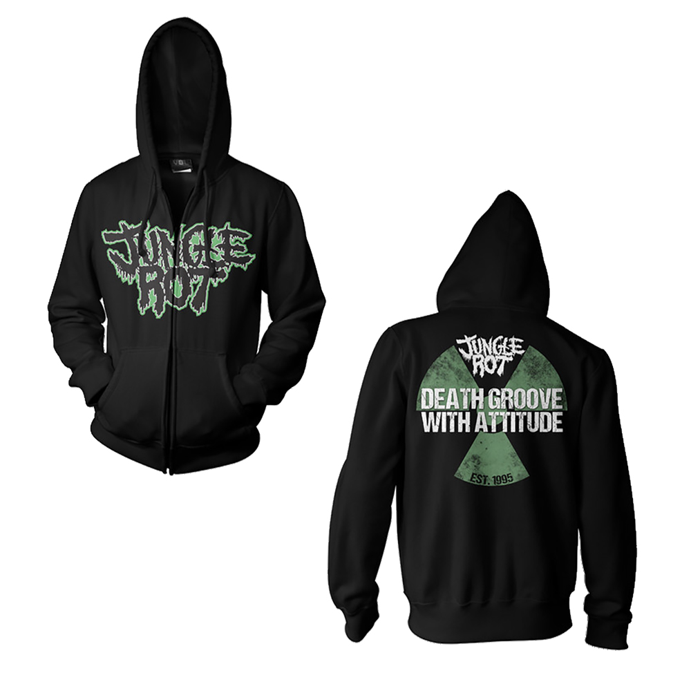 Jungle Rot - Death Groove (Zip Up Hoodie)