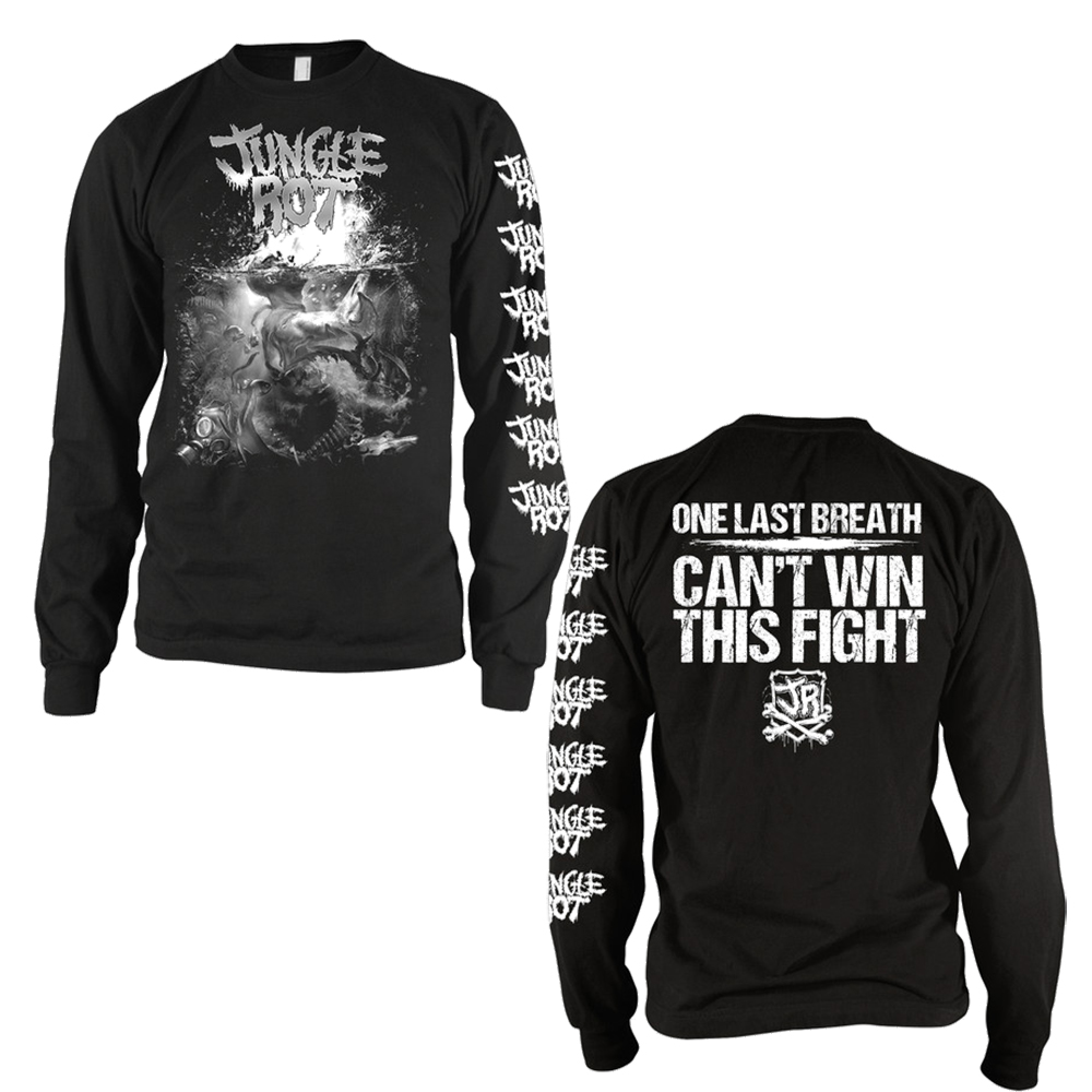 Jungle Rot -  Last Breath (Longsleeve T-Shirt)
