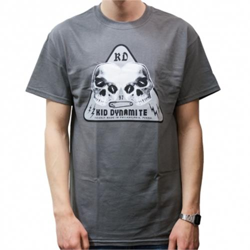 Kid Dynamite - Double Skull (Charcoal)