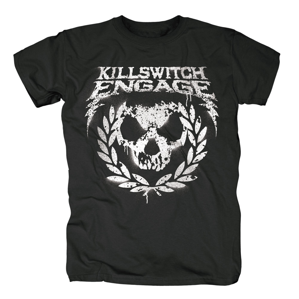 Killswitch Engage - Skull Leaves (Black)