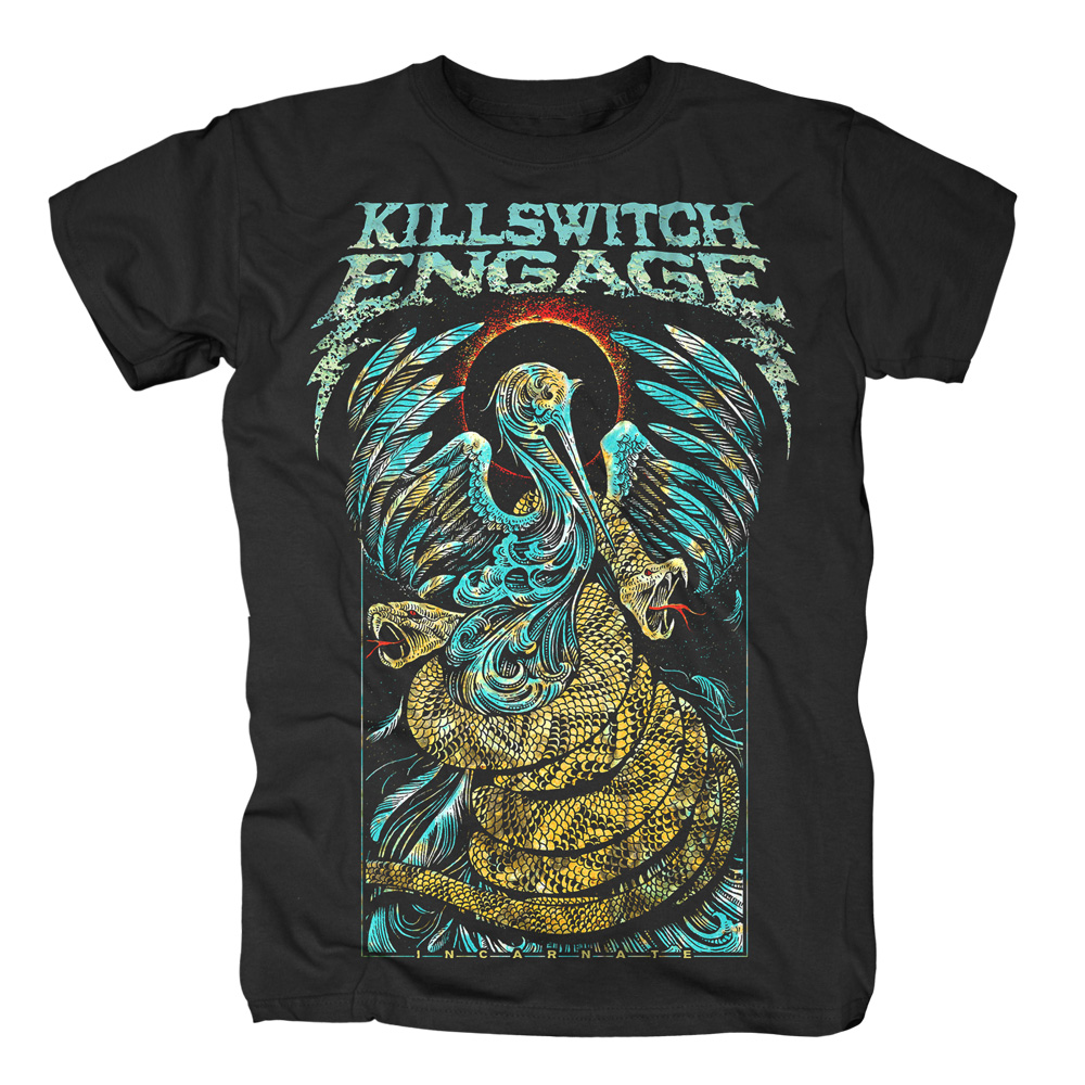 Killswitch Engage - Cradle Snakes Attack (Black)