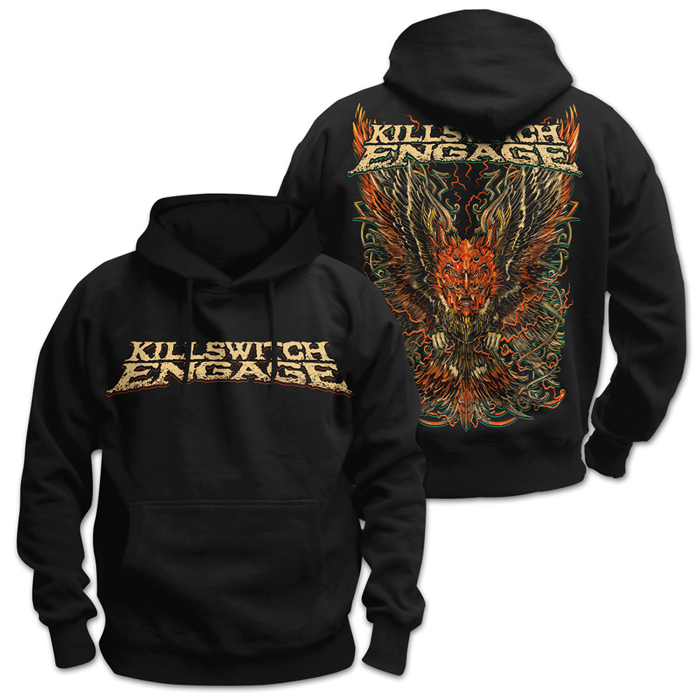 Killswitch Engage - Feathered Devil (Black)