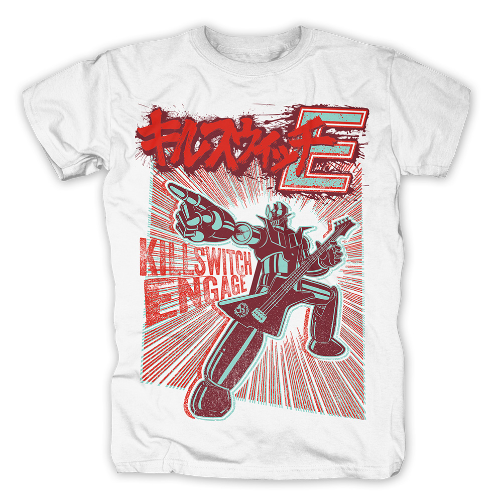 Killswitch Engage - Robot (White)