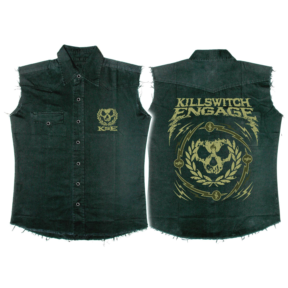 Killswitch Engage - Skull Wreath (Work Shirt)