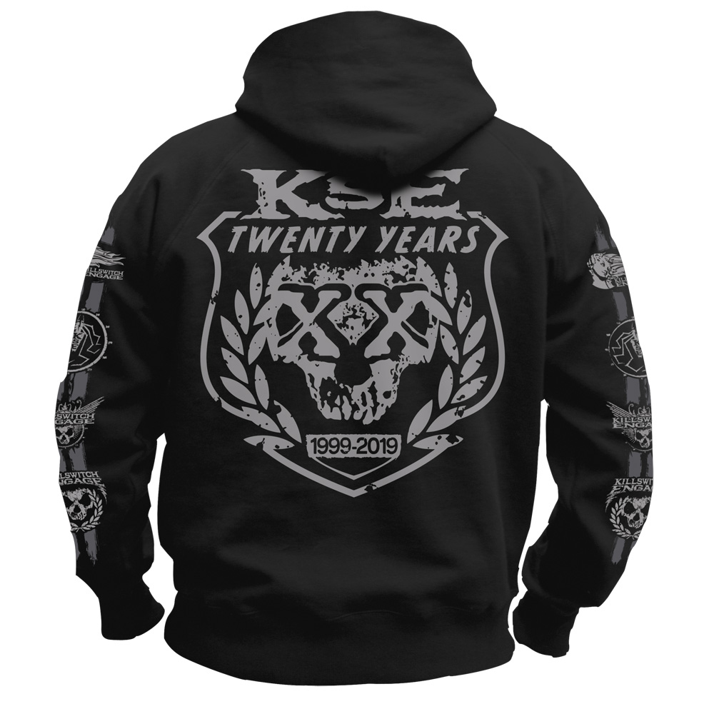 Killswitch Engage - 20th Anniversary (Zip Hoodie)