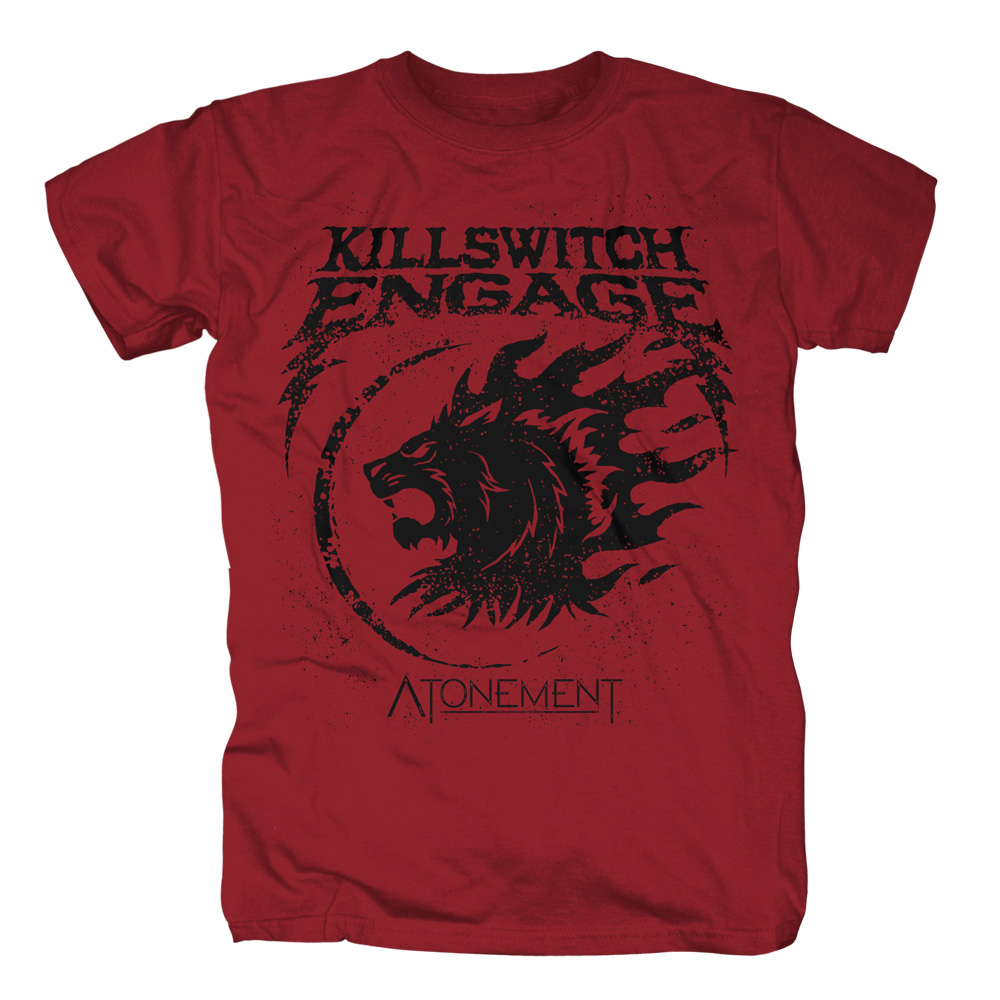 Killswitch Engage - Lion Emblem (Red)