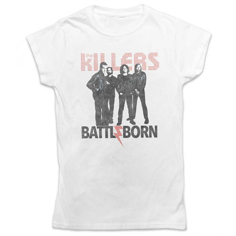 Killers - Battle Born (White) (Ladies)