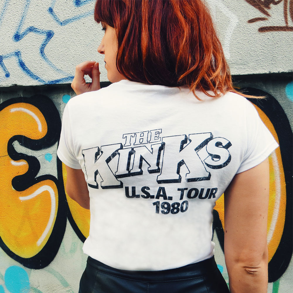 The Kinks - One For The Road Vintage USA 1980 (White)