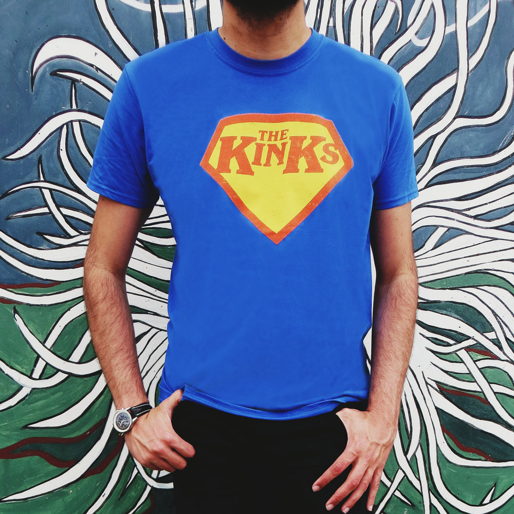 The Kinks - Super Kinks Logo