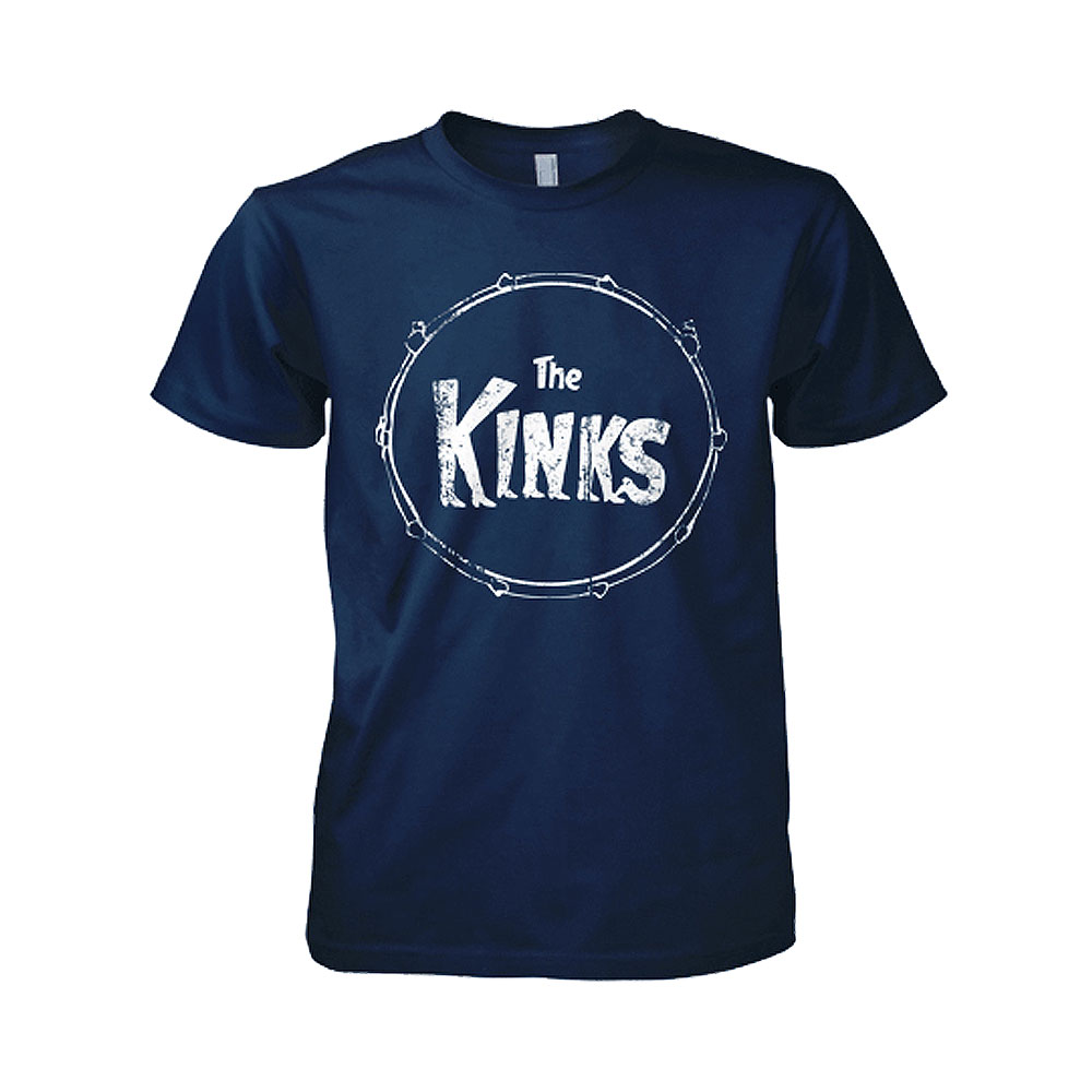 The Kinks - Kinky Boots Logo (Navy Blue)