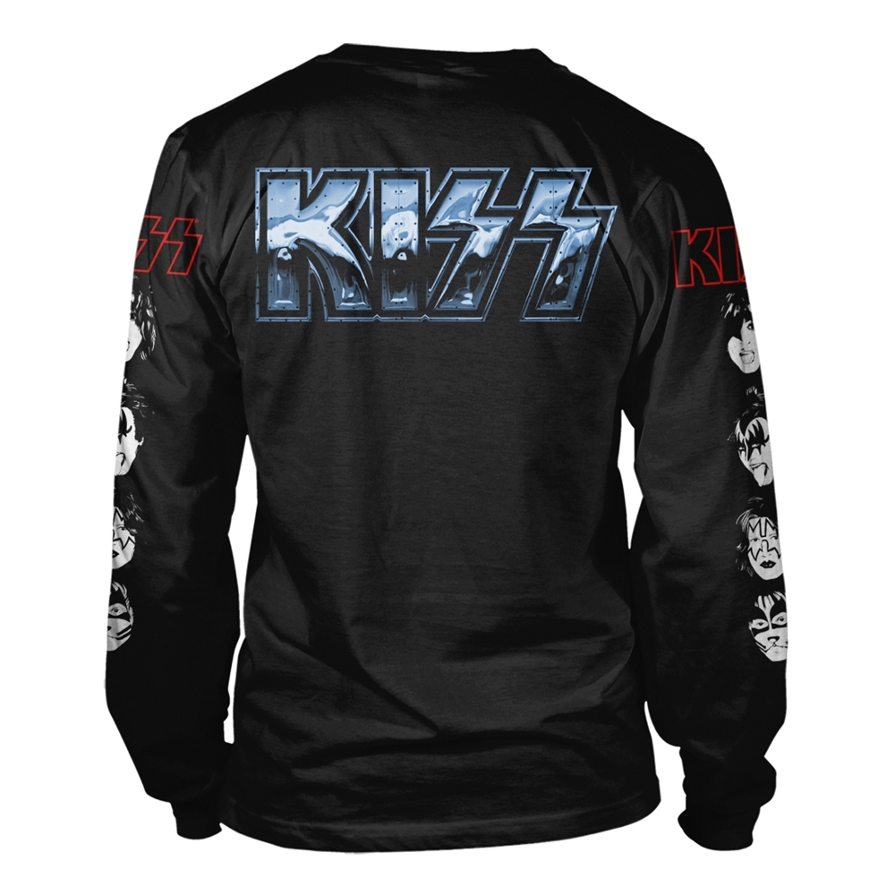 Kiss - Love Gun Chrome (Longsleeve)