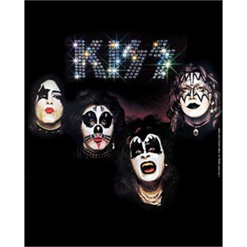 Kiss - Self Titled Album (Black)