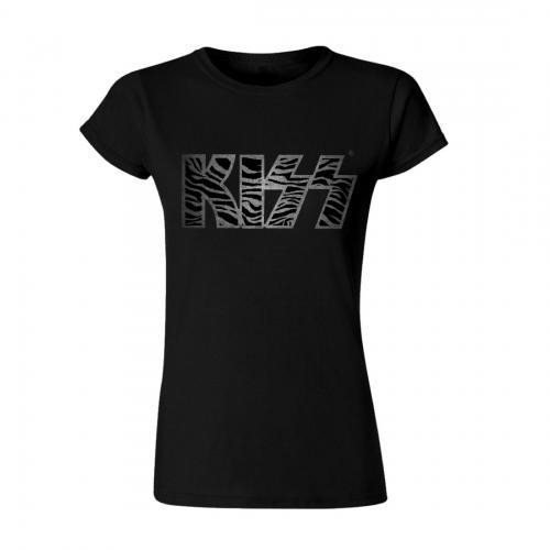 Kiss - Zebra Logo (Ladies)