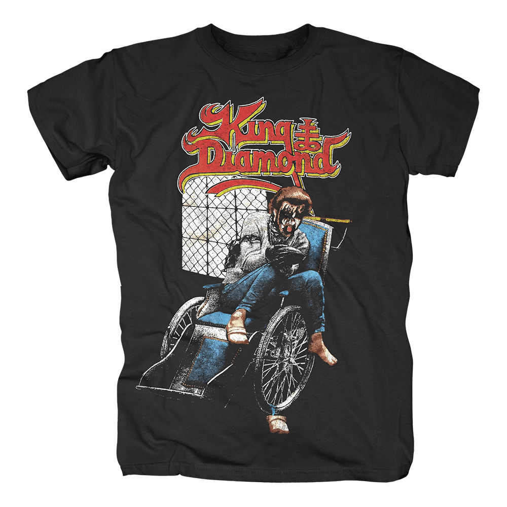 King Diamond - Wheelchair