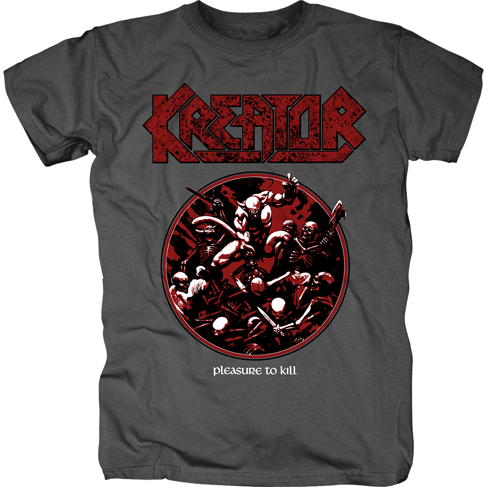 Kreator - Pleasure To Kill Circle (Charcoal)