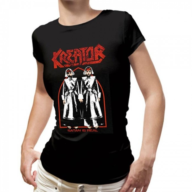 Kreator - Satan Is Real (Women's) (Black)