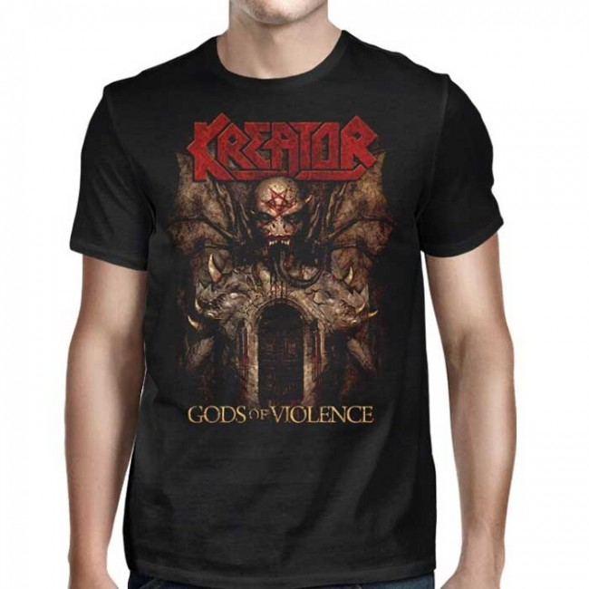 Kreator - Gods Of Violence (Black)