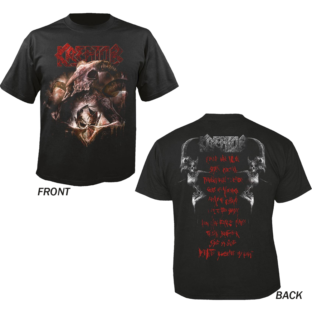 Kreator - Gods Of Violence (With Back Print)