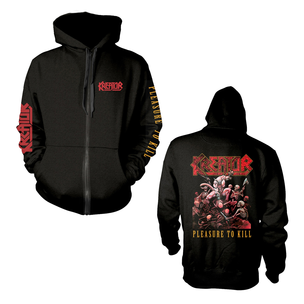 Kreator - Pleasure To Kill (Zipped Hoodie)