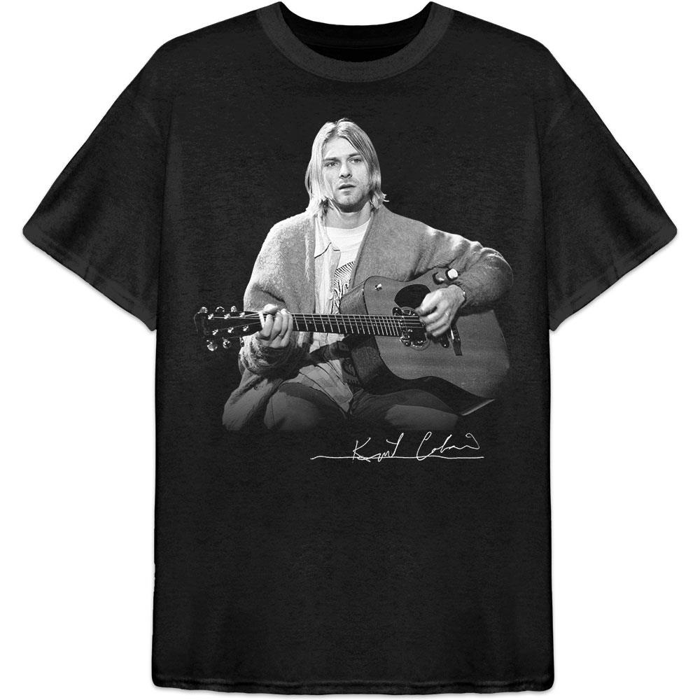 Kurt Cobain - Guitar Live Photo