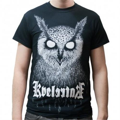T-shirts Kvelertak Owl King T-shirt