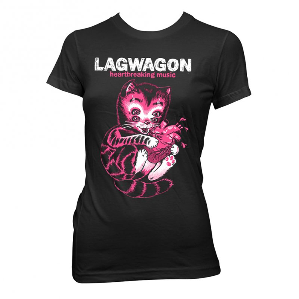 Lagwagon - Heart Cat (Ladies)