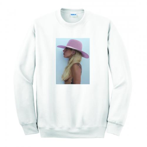 Lady Gaga - Joanne White Photo (Crewneck Sweatshirt)