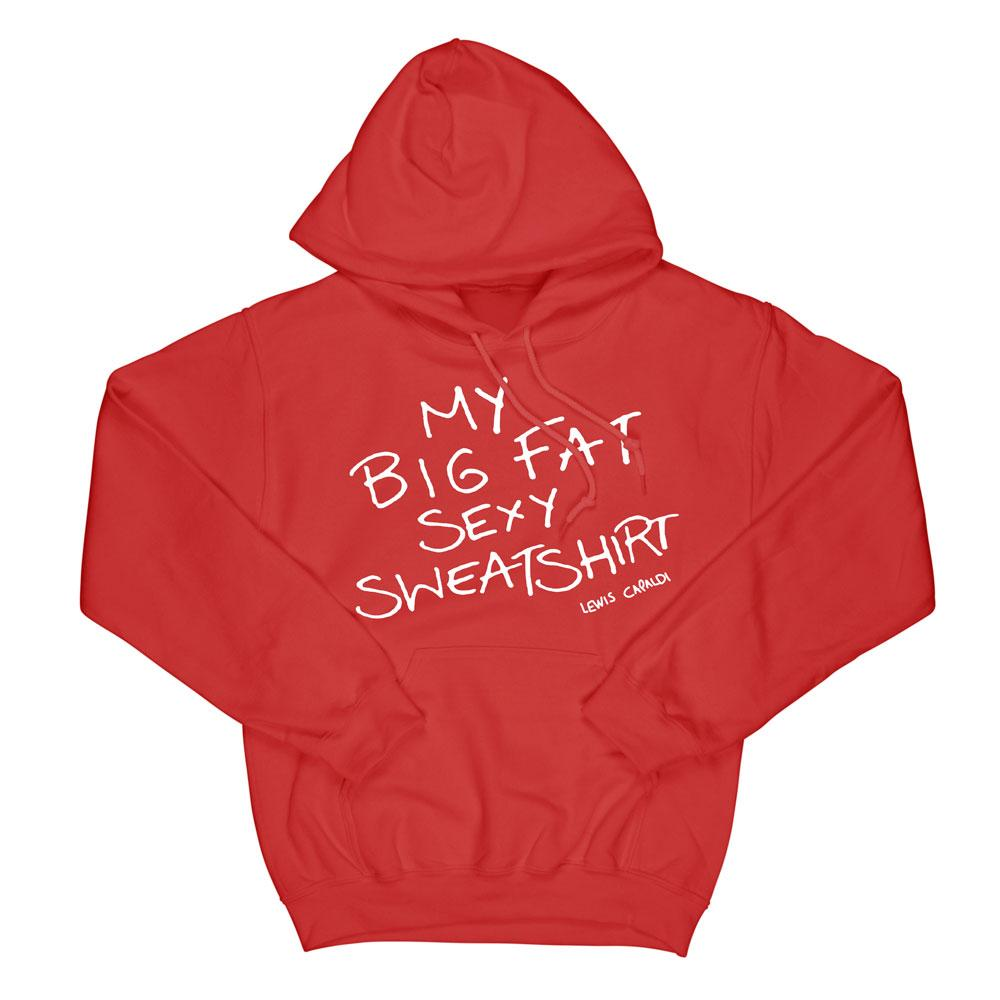 Lewis Capaldi - Lewis Capaldi's Big Fat Sexy Red Sweatshirt