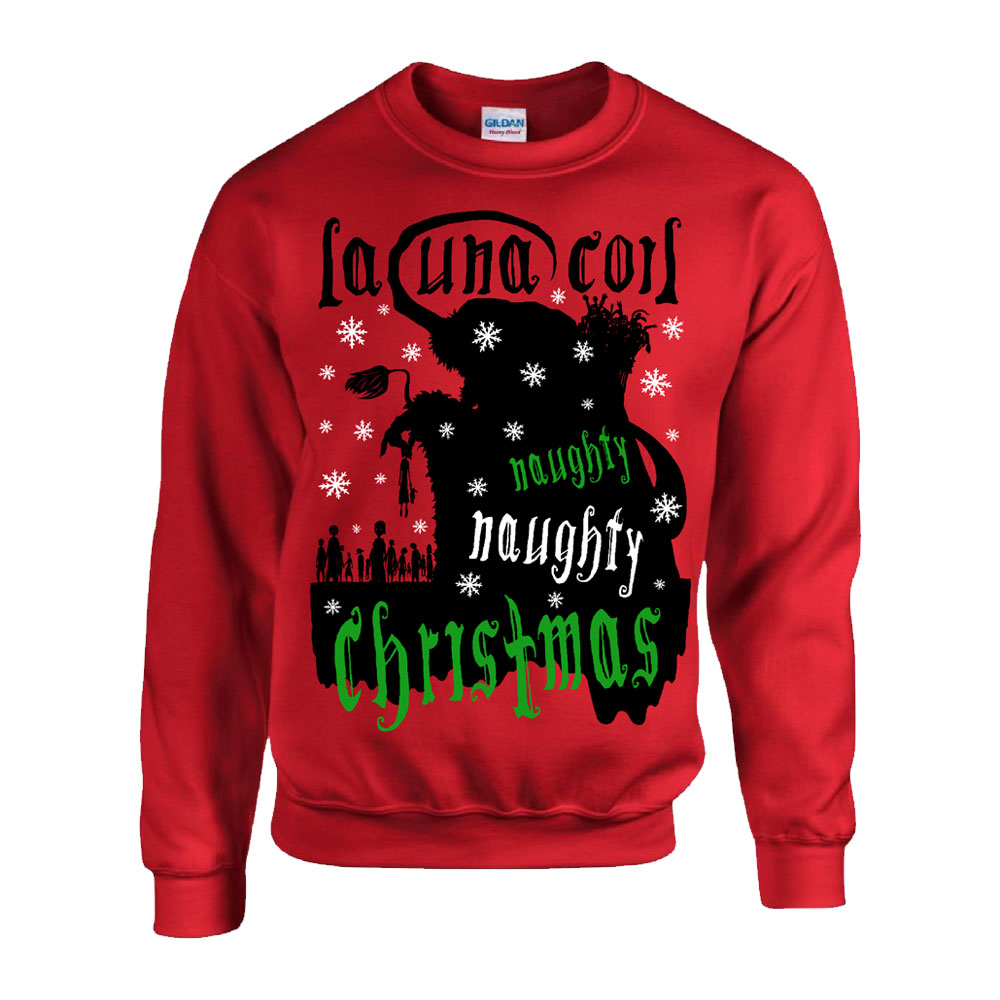 Lacuna Coil - Naughty Christmas Jumper