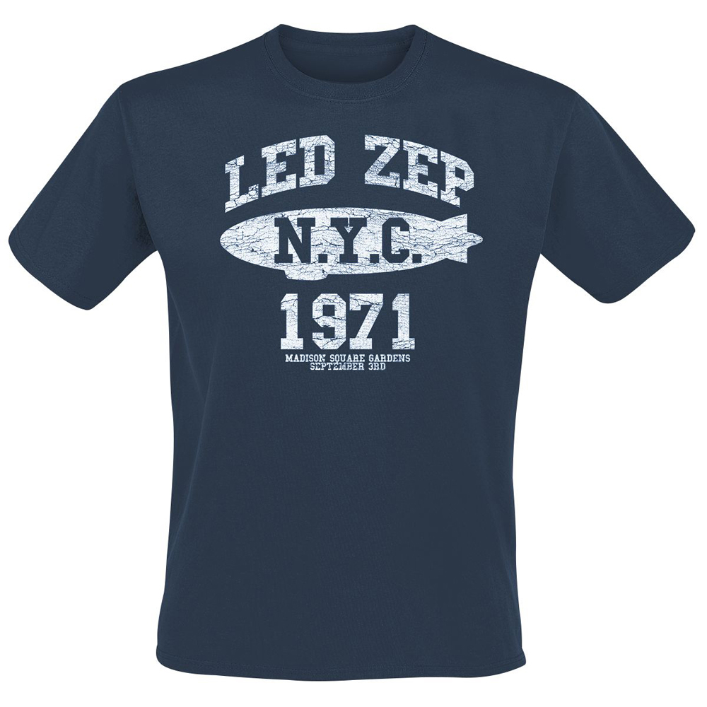 Led Zeppelin - NYC 1971 (Navy)
