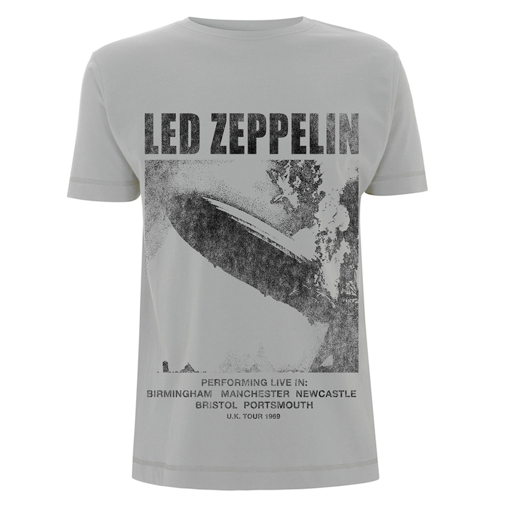Led Zeppelin - UK Tour 1969 LZ1 (Ice Grey)