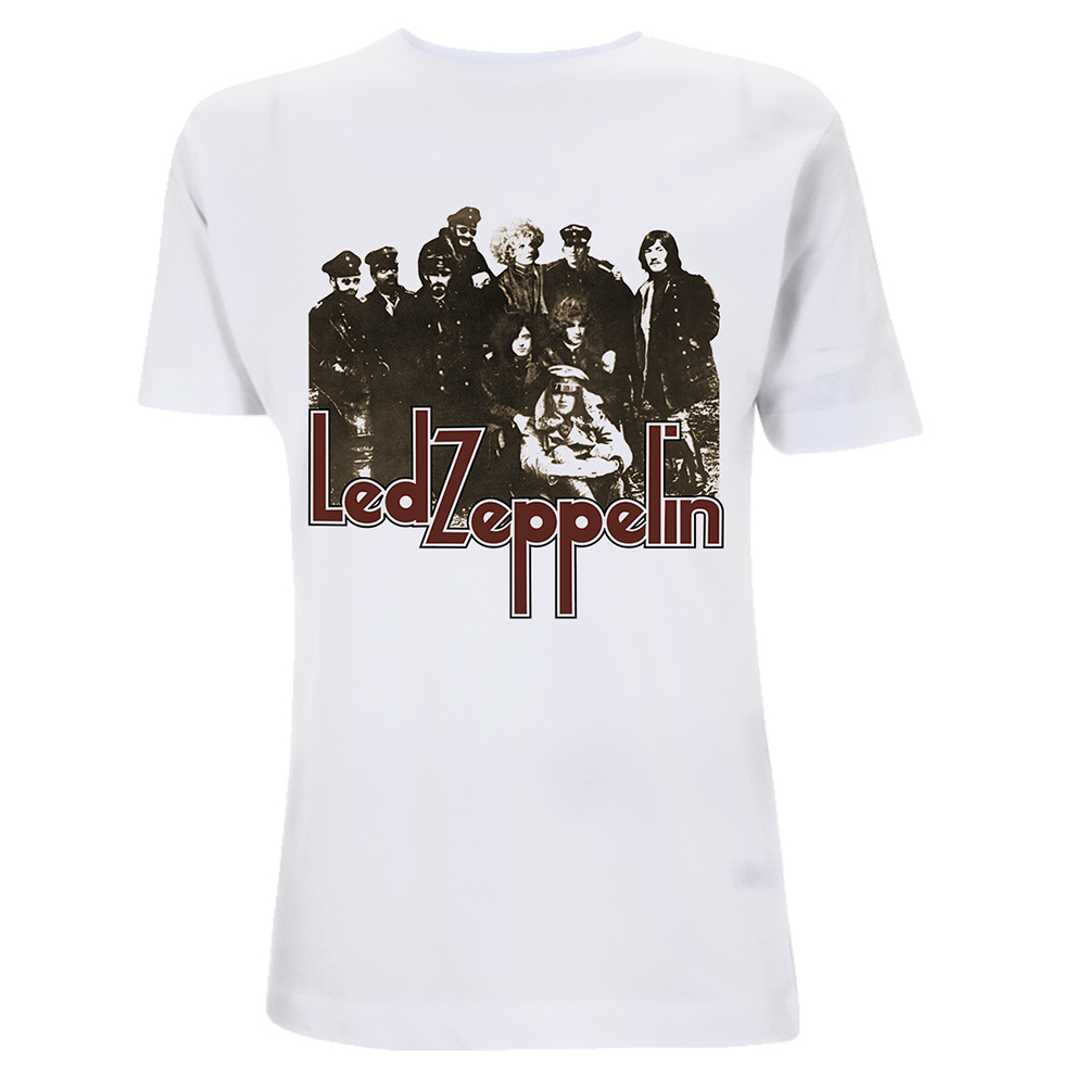 Led Zeppelin -  LZ II Photo (White)