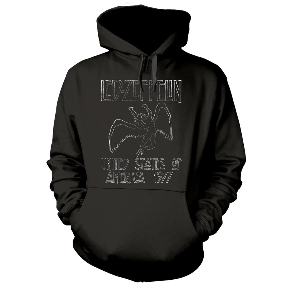 Led Zeppelin - USA 1977 (Hoodie)