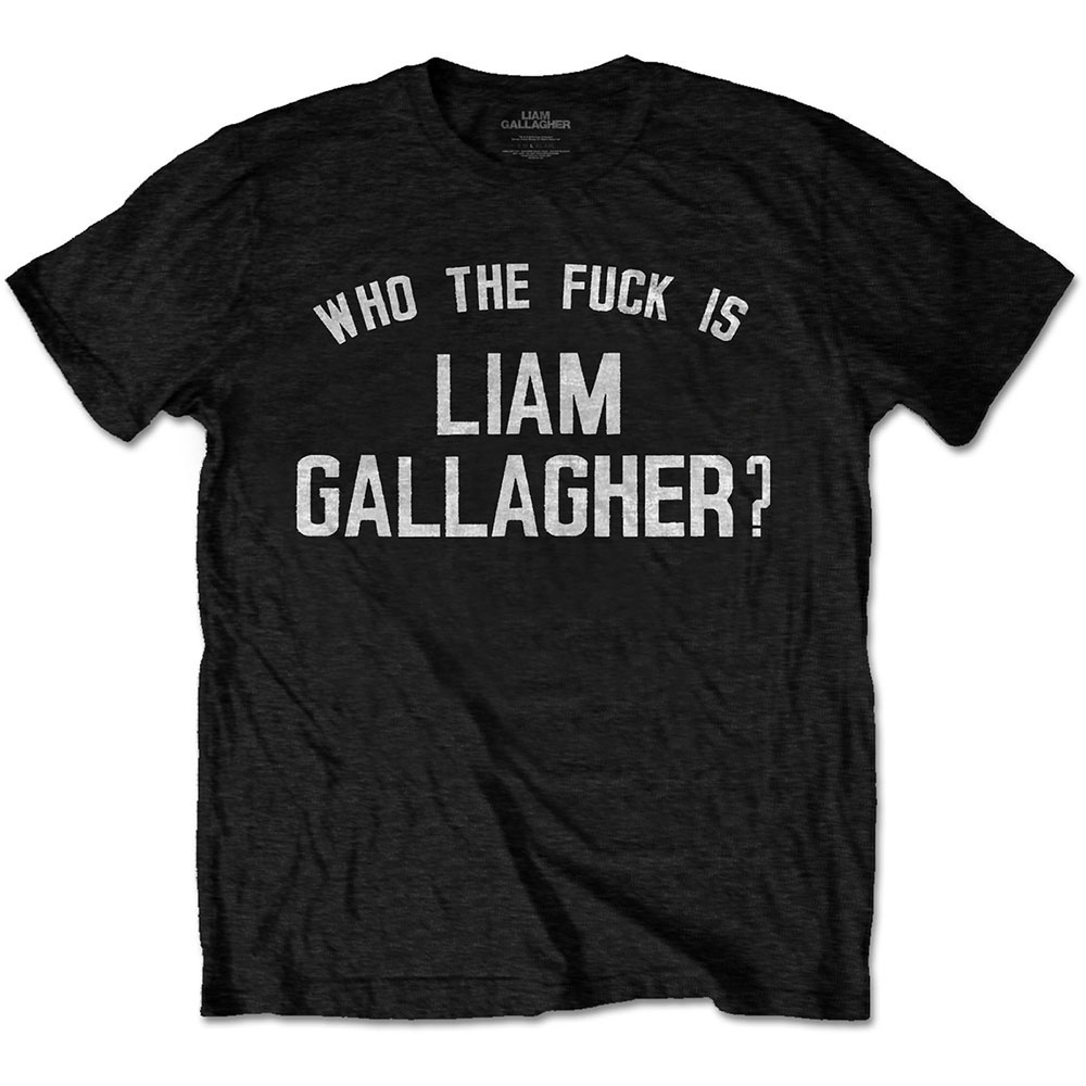 Liam Gallagher - Who the Fuck…(Black)