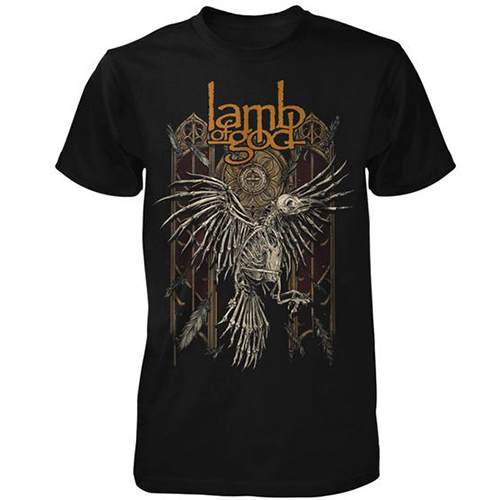 Lamb Of God - Crow Skeleton (Black)