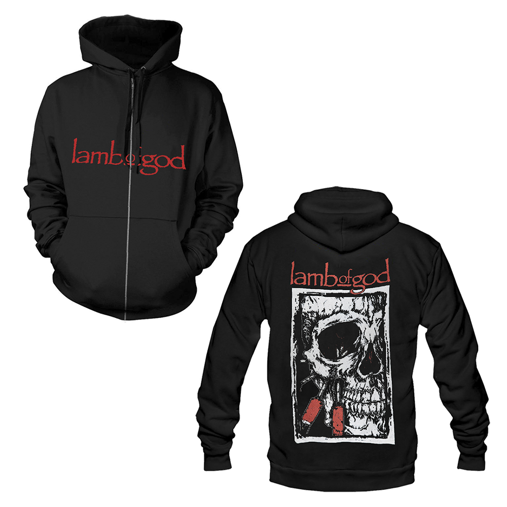Lamb Of God - Infect (Zip Hoodie)