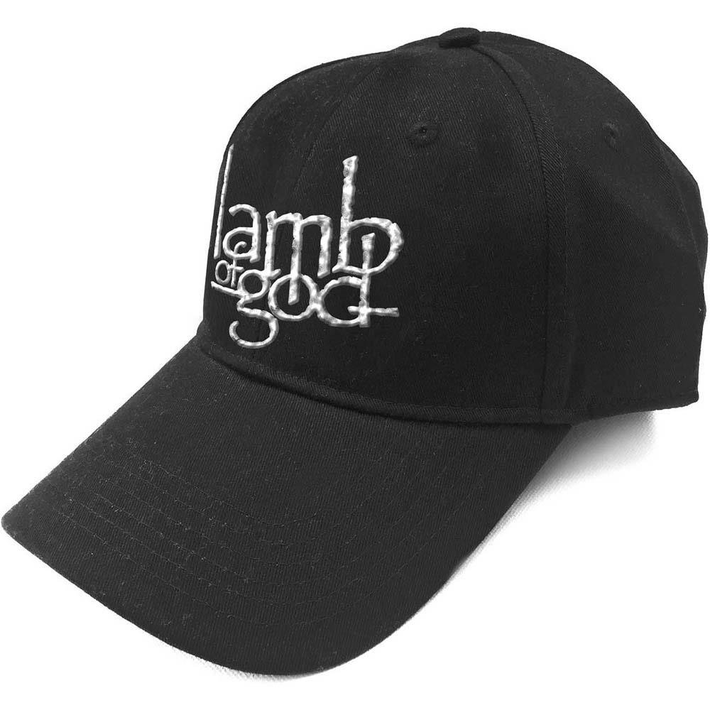 Lamb Of God - Logo (Sonic Silver) (Baseball Cap)