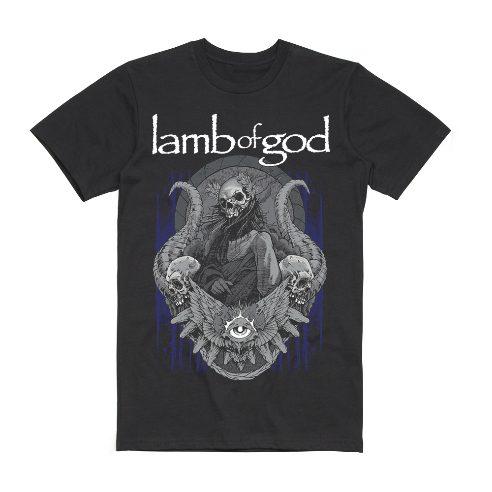 Lamb Of God - Blue Sturm 2019 Date Back