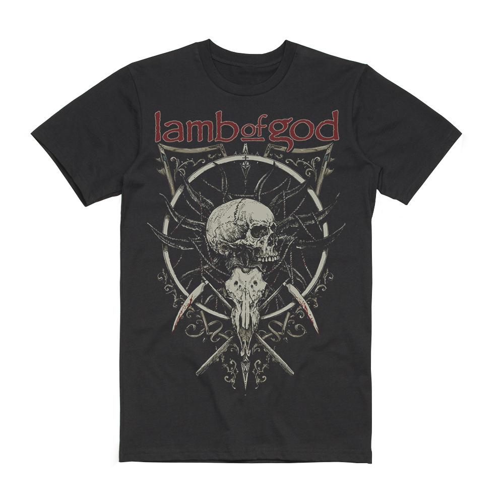 Lamb Of God - Skull Kopia 2019 Date Back
