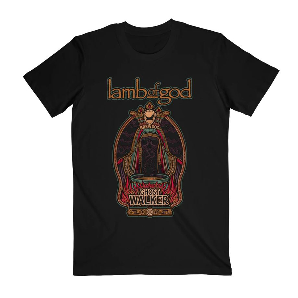 Lamb Of God - Ghost Walker Tee