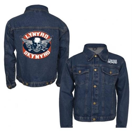 Lynyrd Skynyrd - Biker Patch (Denim)