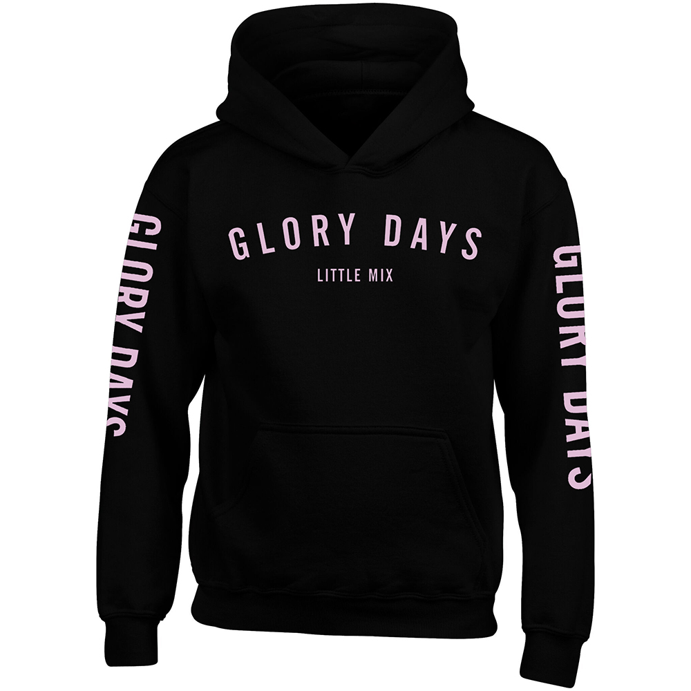 Little Mix - Glory Days Black Pink Kids Hoodie