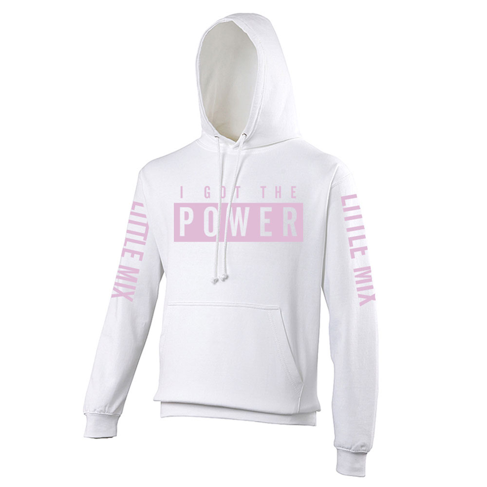 Little Mix - IGTP White and Pink Kids Hoodie